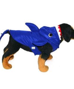 fantasia de tubarão para cães