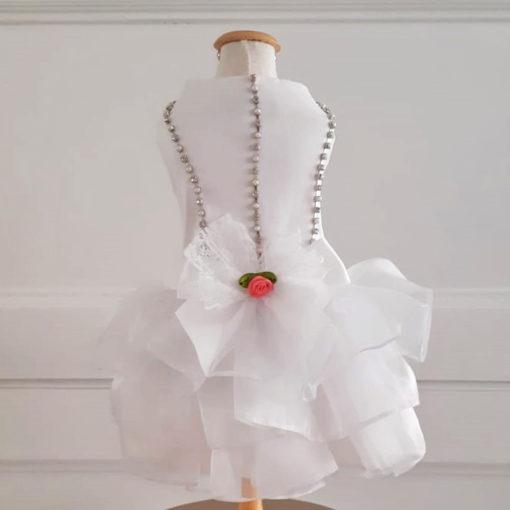 vestido de noiva para cachorro