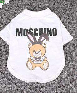medidas da camiseta moschino para cachorro