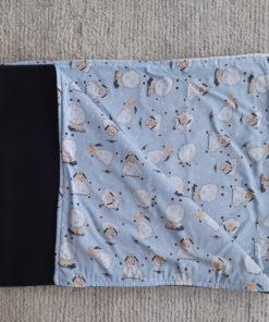 cobertor ovelhas azul para cachorro