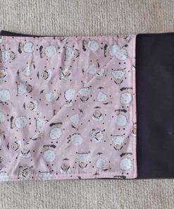 cobertor ovelhas rosa para cachorro