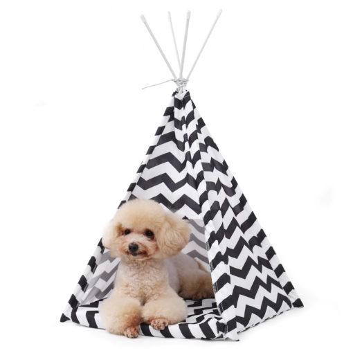 cama cabana desmontável para cachorro