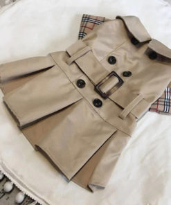 trench coat para cachorro burberry
