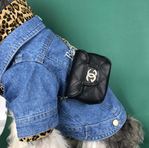 bolsa chanel inspirada para cachorro