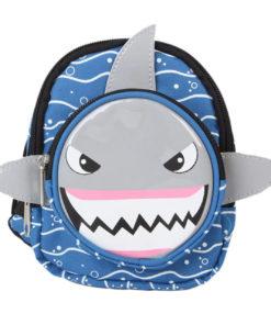 mochila para cachorro de tubarão