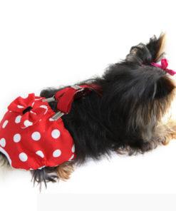 calcinha para cachorro com suspensório