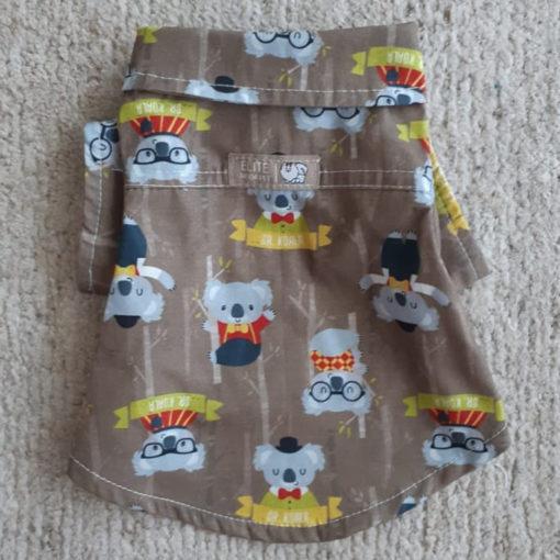 camisa coalhas para cachorro