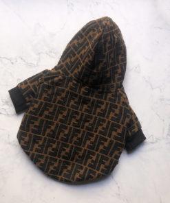 jaqueta inspirada marca famosa cachorro