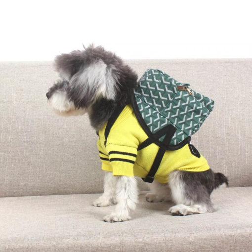 mochila grife famosa para cachorro