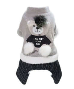 macacão not your toy para cachorro