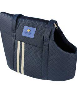 bolsa de passeio para cachorro azul