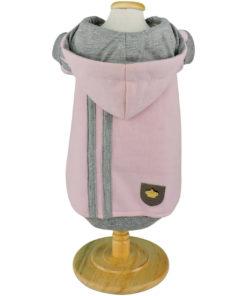 moletom rosa bebê para cachorro