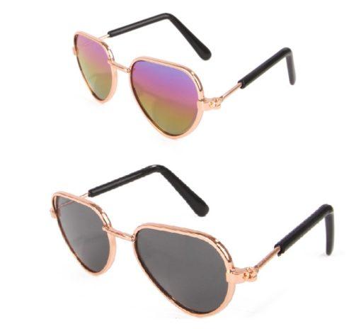 oculos de sol triagular para cachorro
